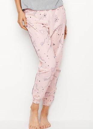 Victorias secret пижамные штаны джоггеры виктория сикрет victoria secret