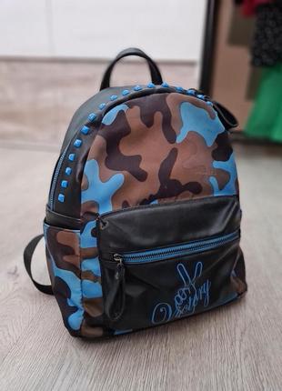 Рюкзак из кожи эко