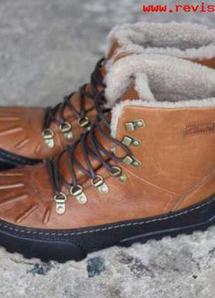 Clarks reel cool кожаные зимние   сапоги размер 39.5, 40,   оригинал