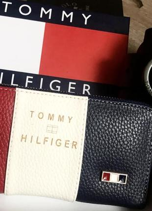 Новый женский кожаный ремень и кошелёк  tommy hilfiger