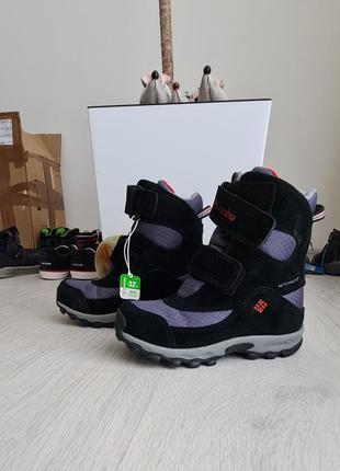 Новые зимние ботинки columbia, размер 30.