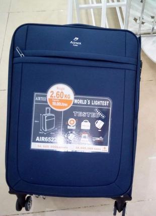 Чемодан, средний размер,чемодан на 65 литров,airtex 6522