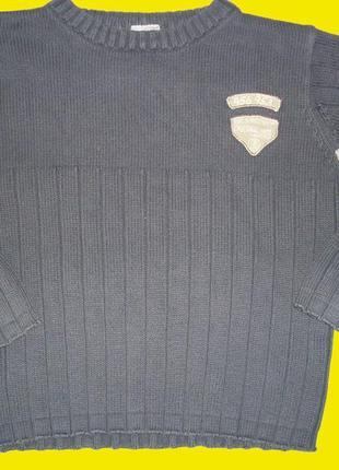 Теплый свитер на мальчика,рост 104 см