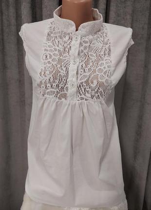 Стильная блуза для беременных dianora
