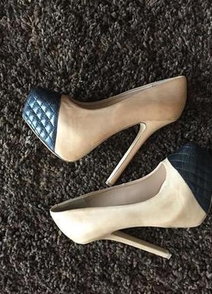 Нереальные кожаные туфли steve madden