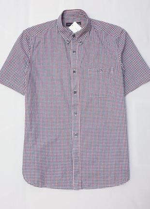French connection англия рубашка сорочка в клетку m