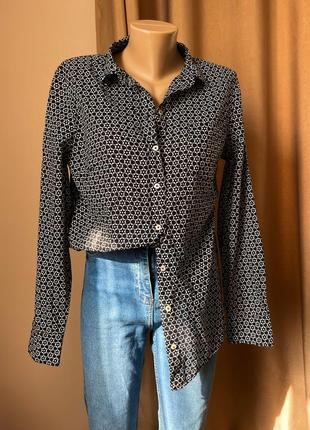 Хлопковая рубашка marc o polo