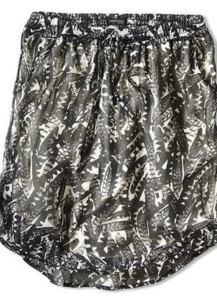Летняя легчайшая шифоновая юбочка для вашей модницы от tchibo, германия