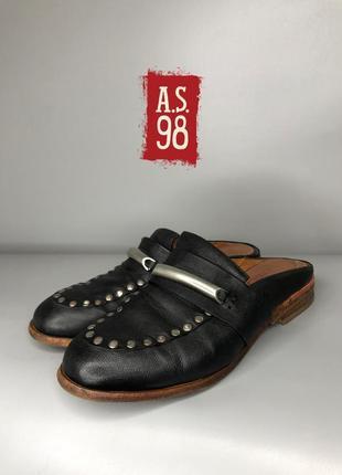 As98 airstep rundholz owens люкс дизайнерские мюли кожаные стим панк грубые сабо туфли