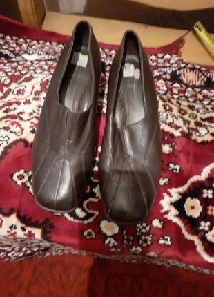 Туфли кожаные medicus