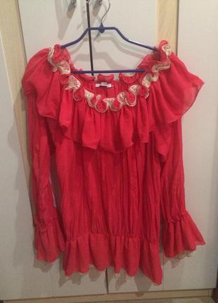 Шикарная блуза imperial (италия )