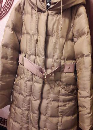 Пальто пуховик zara