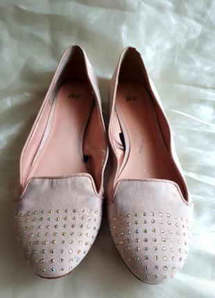Распродажа обуви / балетки h&m