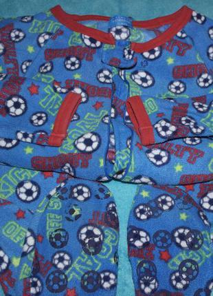 Primark essentials слип футбол мяч кигуруми человечек пижама домашний костюм