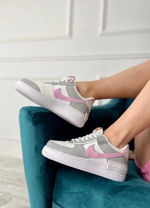 Nike air force shadow pink floyd кроссовки женские
