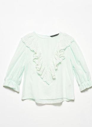 Нарядная блуза с рюшами
