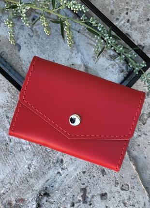 Мини-кошелек, мини-визитница для карточек, hand made, для водительского удостоверения