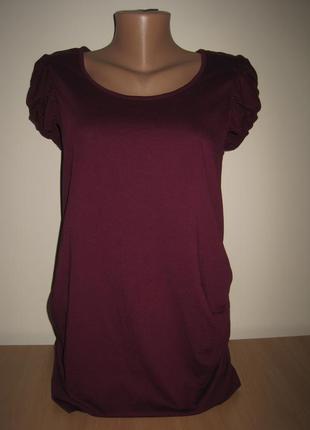 1/10. футболка для беременных. размер 14 (см. замеры). redherring. в отличном состоянии!!!