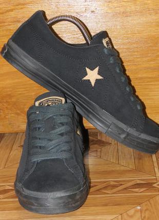 Кожаные кроссовки кеды converse one all star(оригинал)р.41