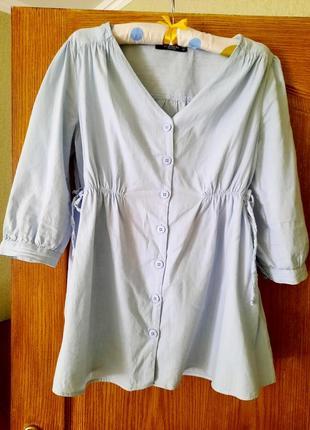 Блузка сорочка для вагітних