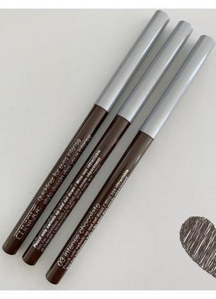 🧚🏻♀️clinique  quickliner for eyes intense олівець для очей.
