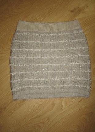 Очень мягкая теплая юбка 46 м