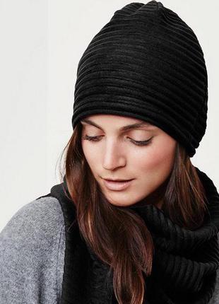 Теплый комплект шапка, шарф, германия