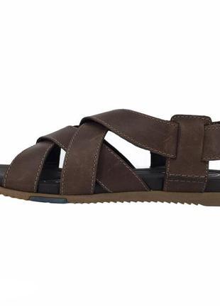 Мужские кожаные сандалии clarks worthy way 42,5 оригинал