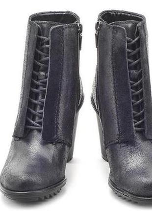 Шкіряні черевики clarke keswick stone розмір: 40 -26.5 см.
