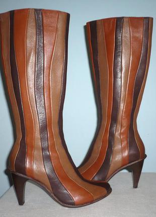 Шикарнейшие кожаные сапоги tsubo, р. 38.5