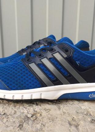 Кроссовки синие adidas