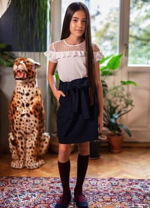 Блузка школьная sly 117/s/20