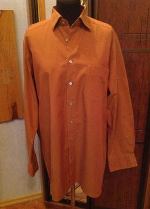 Натуральная, приличная рубашка бренда marvelis, р. 62-64