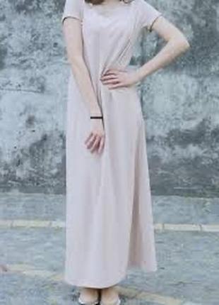 Платье рубашка хлопковое трикотажное туника платье футболка майка