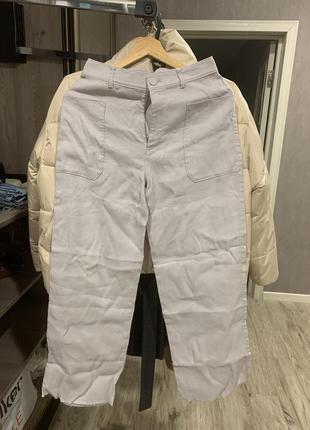 Льняные брюки club monaco
