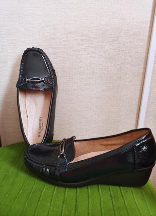 Туфли тёмно синие 38р ст.24,5- 24см