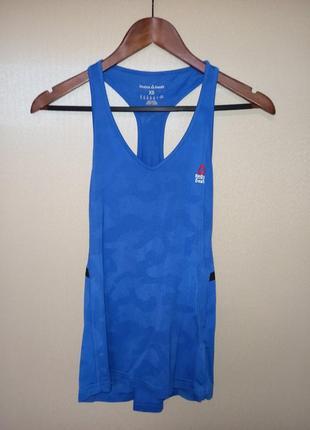Спортивная майка, футболка reebok crossfit, размер xs, uk 4-6.