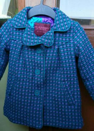 Фирменное английское пальто ted baker для вашей принцессы