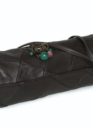 Интересная сумка саквояж, натуральная кожа4
