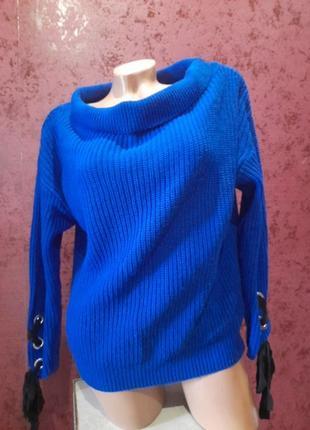 Стильный теплый свитер primark кофта джемпер пуловер лонгслив