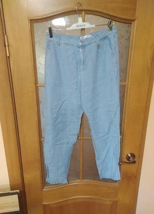 Легкие джинсы из лиоселла от zara,p . 38