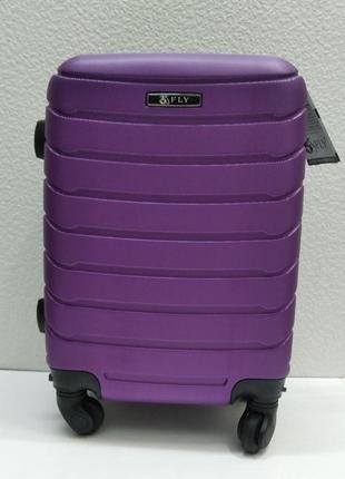 Дорожный пластиковый чемодан fly (ручная кладь) 21-08-023