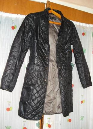 """Супер пальто черного цвета """"zara woman""""р.xs,индонезия."""