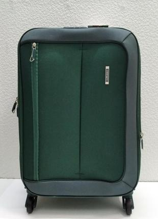 Тканевый чемодан verona маленький (зеленый) 21-08-028
