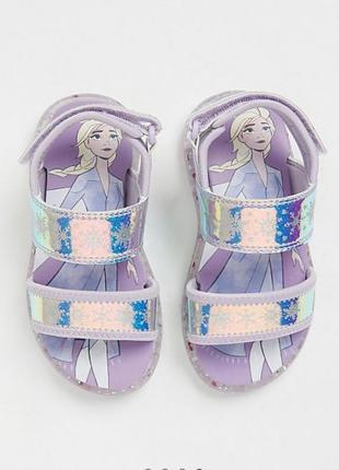 Светящиеся сандалии george для девочки 30-31 размер 20 см