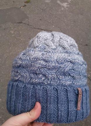 Стильный комплект шапка + баф