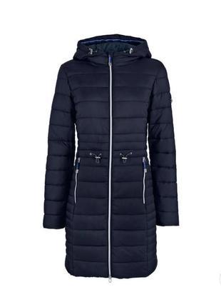 Легкое пальто с капюшоном tcm tchibo, оригинал, размер xl, темно синие