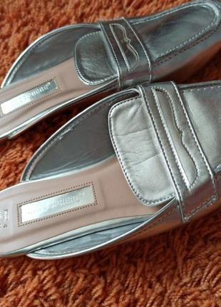 Шлепки туфли шикарные