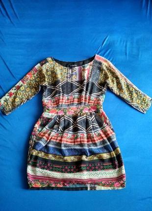 Платье mango шифон