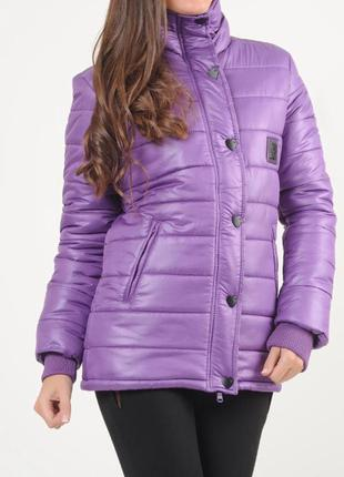 Куртка модная деми теплая